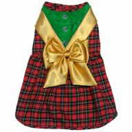 Dog dress for Christmas from DoggyDolly ST008