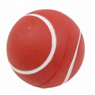 Rubber ball for dogs brown