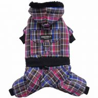 warm dog clothes for the winter - 4 leg dog anorak of DoggyDolly