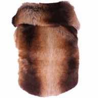 Mink coat for dogs - fashionable dog clothing by DoggyDolly W140