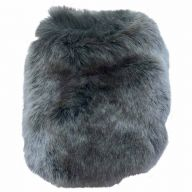 Fur stole for dogs - short fur coat for dogs - DoggyDolly W143