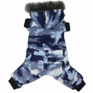 warm dog clothing in the Armylook of DoggyDolly W199