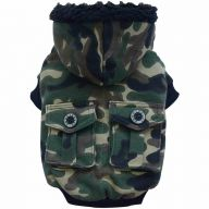 Camouflage dog jacket from DoggyDolly W210