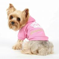 DoggyDolly Royal Divas Pink dog sweater